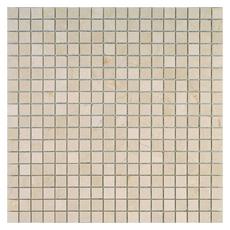 Каменная мозаика Crema Marfil pol. 15x15х4